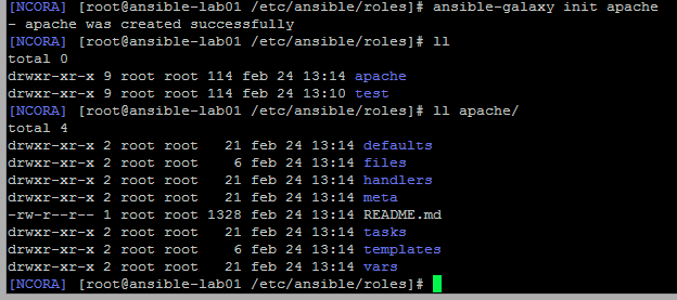 ansible-role-structure